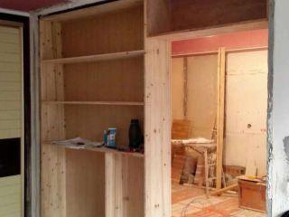 现场木制品造型施作