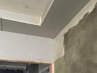 石膏板吊顶施作