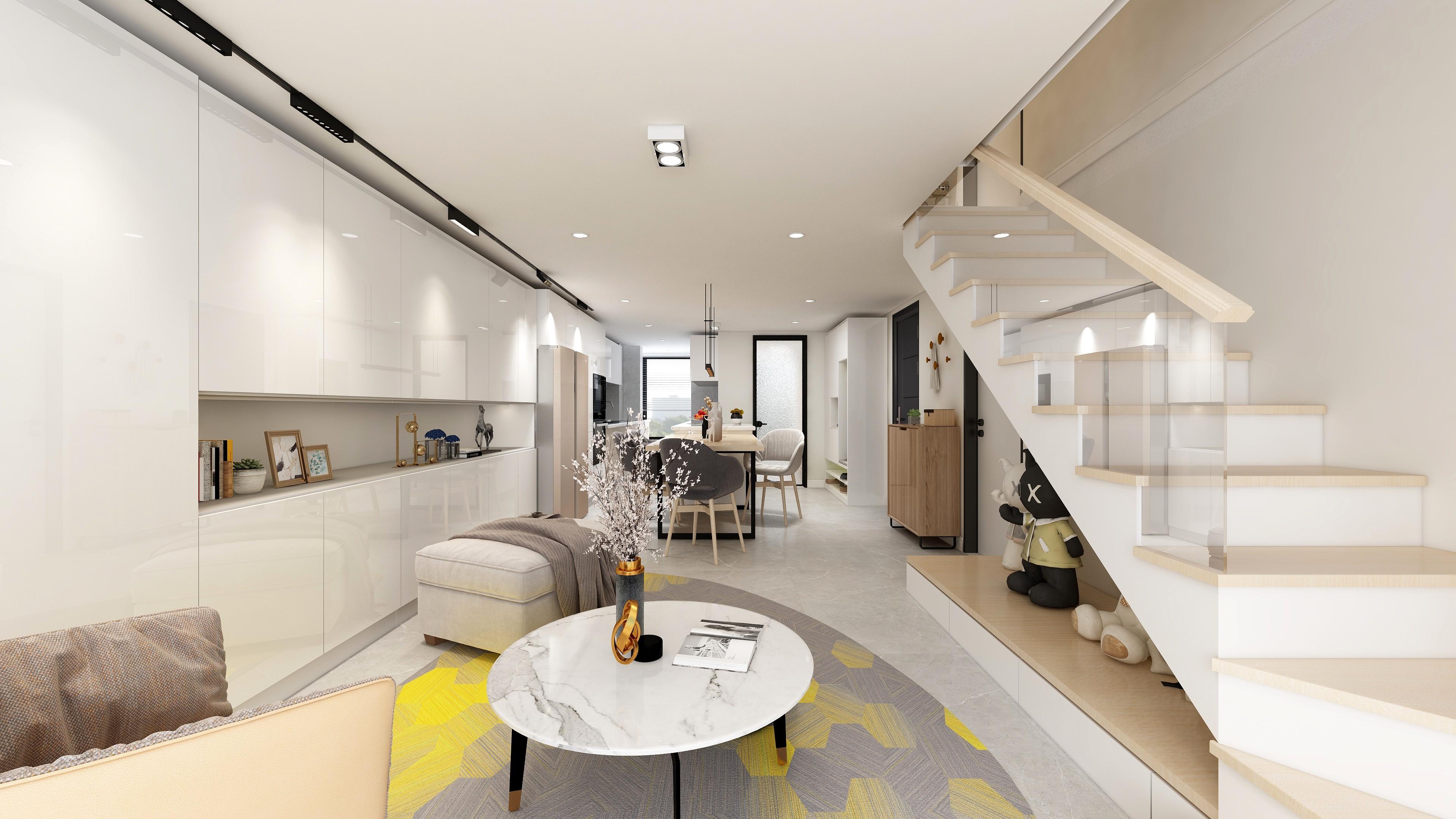 现代日式loft